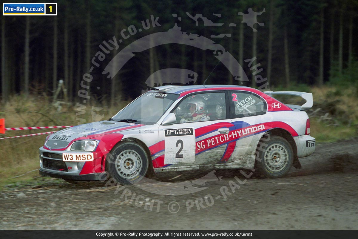 2002 Grizedale Stages Rally Report