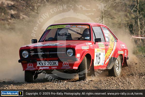 2009 Pirelli Historic Rally