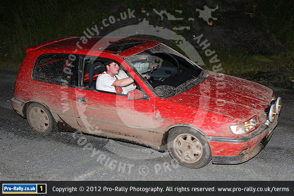 2012 Morecambe Road Rally