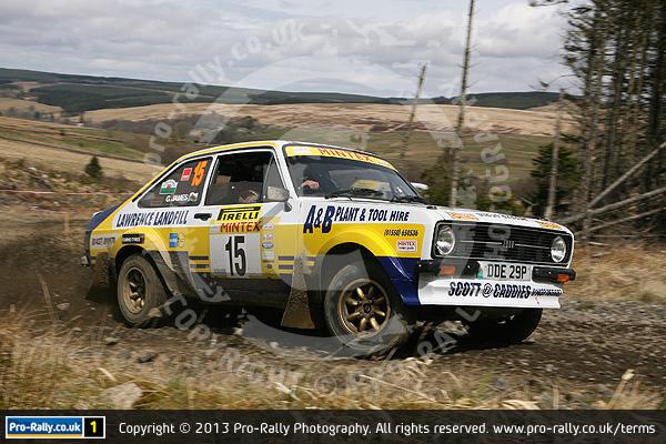 2013 Pirelli Historic Rally