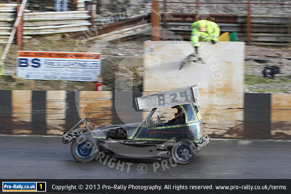 2013 Warton Stock Car Club Mid Winter Open Meeting