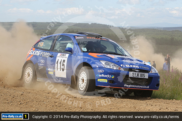 2014 Carlisle Stages Rally (Modern)