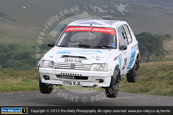 2012 Tyneside Stages Rally