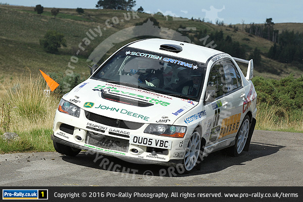 2016 Pendragon Stages Rally