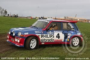 2008 Lombard Rally Slowly Sideways GB