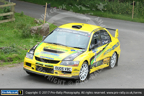 2017 Pendragon Stages Rally