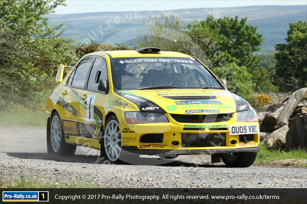 2017 Warcop Stages Rally