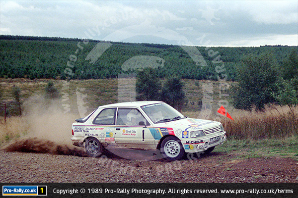 1989 Shell Oils Cumbria Rally