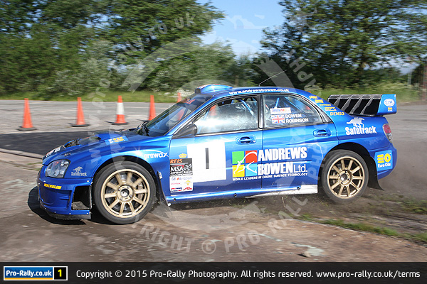 2015 Keith Frecker Memorial Weeton Stages