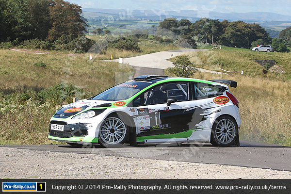 2014 Pendragon Stages Rally