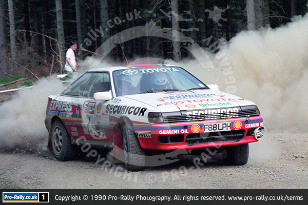 1990 Fram Welsh International Rally