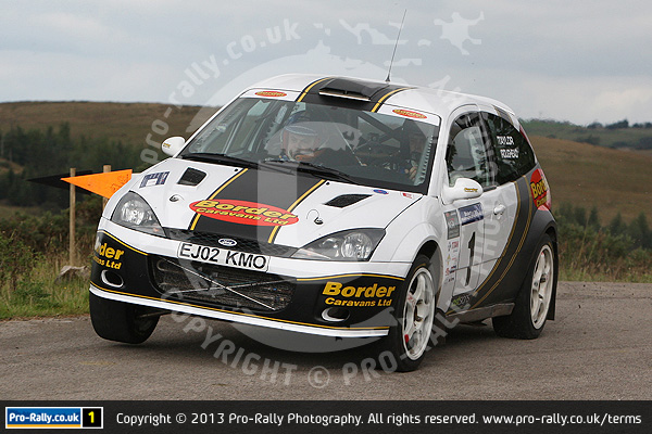 2013 Pendragon Stages Rally