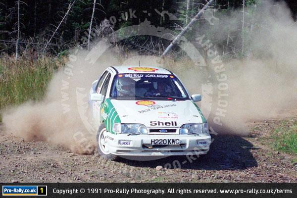 1991 Shell Oils Cumbria Rally