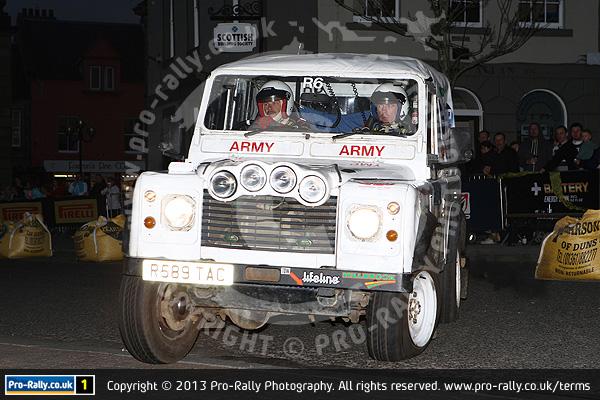 2013 Jim Clark Land Rover Rally
