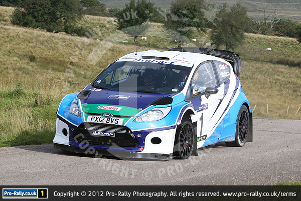 2012 Pendragon Stages Rally