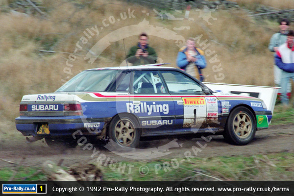 1992 Pirelli International & Trophy Rally