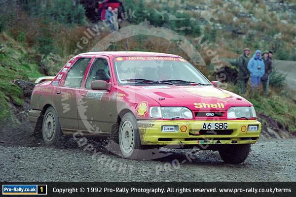 1992 Malcolm Wilson Motorsport Lakeland Stages
