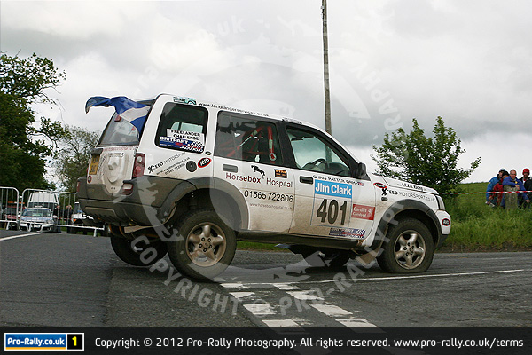 2012 Jim Clark Land Rover Rally