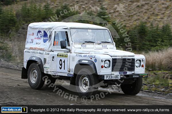 2012 Pirelli Land Rover Rally