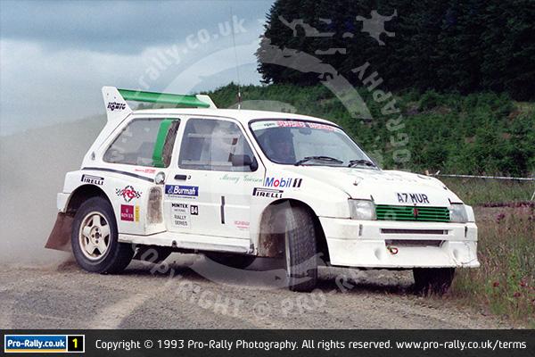 1993 Jim Clark Memorial Rally