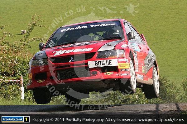 2011 Jim Clark International Rally