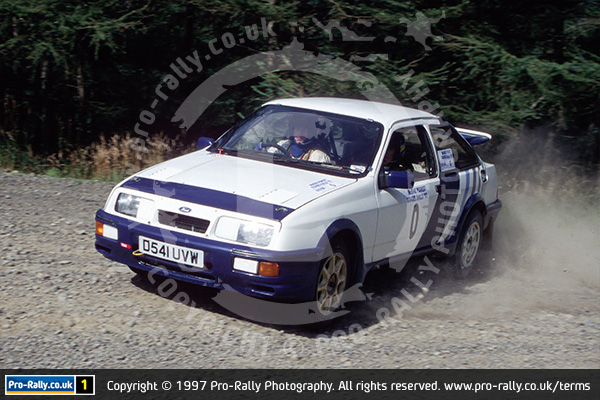 1997 McRae Forest Stages Rally
