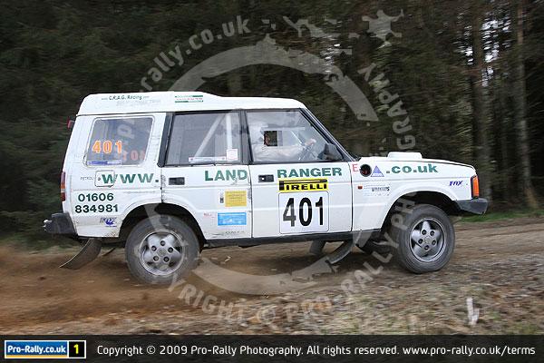 2009 Pirelli Land Rover Rally