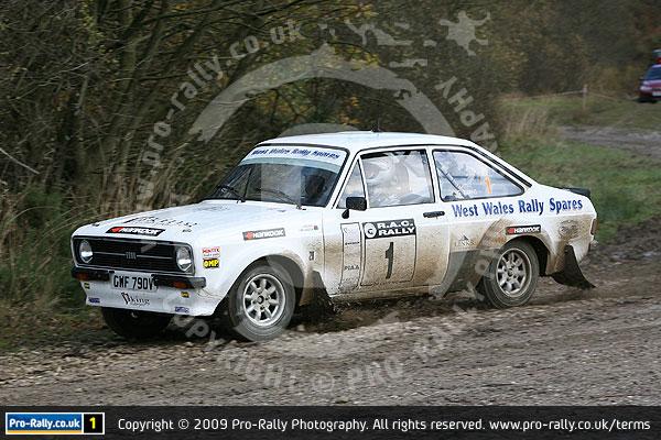 2009 Roger Albert Clark RAC Rally