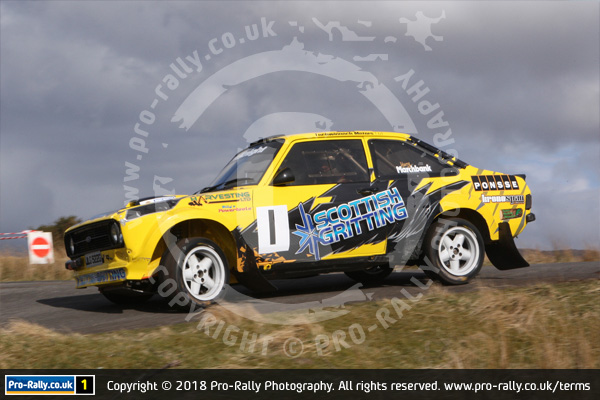 2018 Greg McKnight and Harry Marchbank won North Humberside Motor Club's Warcop Stages Rally in a Ford Escort Mk2. The rally was a round of the NETRC, ANECCC, ANCC, ANWCC, F1000 & NHRC Stage Rally Championships.
