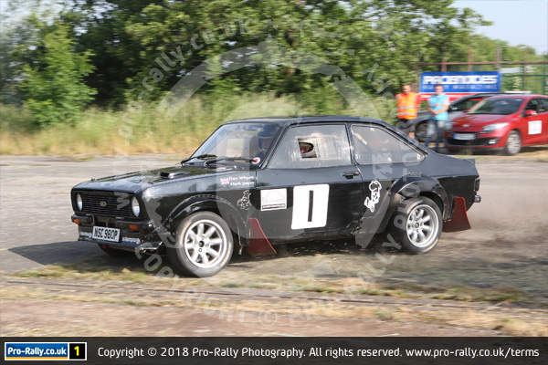 2018 Keith Frecker Memorial Weeton Stages