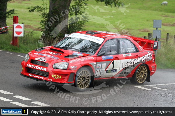 2018 Pendragon Stages Rally