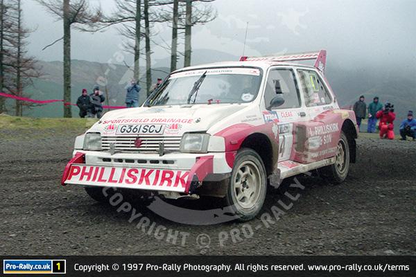 1997 Malcolm Wilson Rally