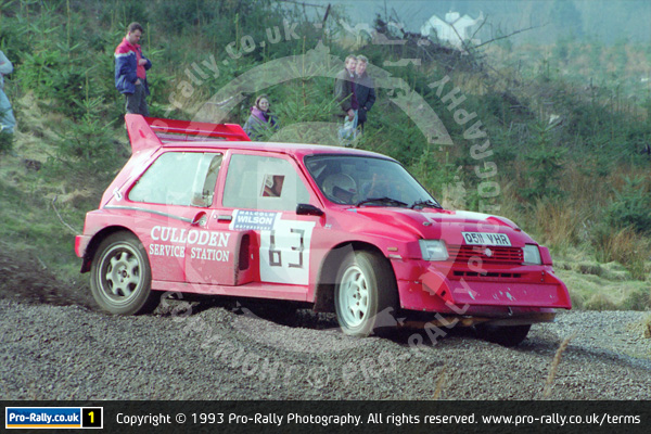 1993 Malcolm Wilson Motorsport Lakekand Stages