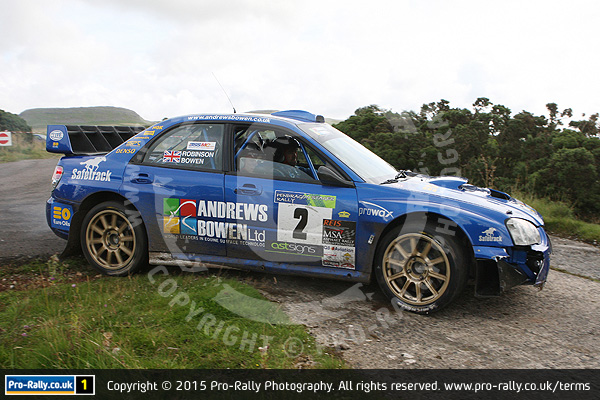 2015 Pendragon Stages Rally