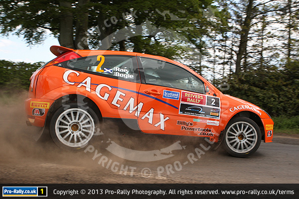 2013 Jim Clark Reivers Rally