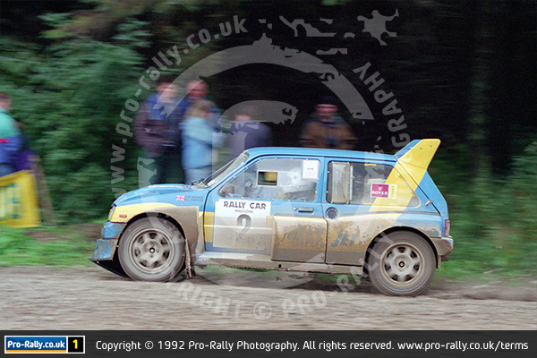 1992 Rally Car Forest Stages