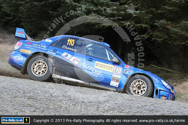 2013 Pirelli National B Rally