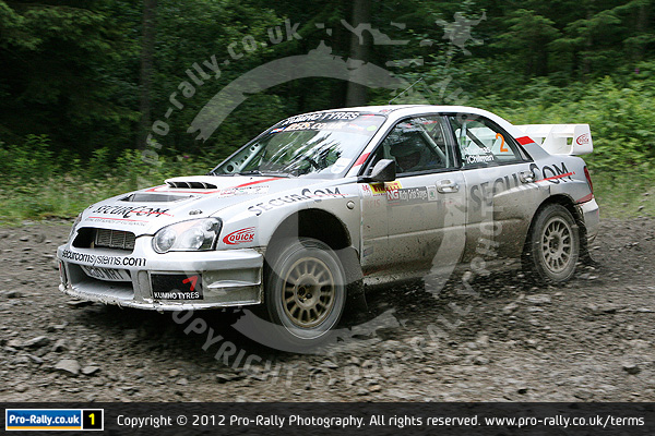 2012 Nicky Grist Stages Rally