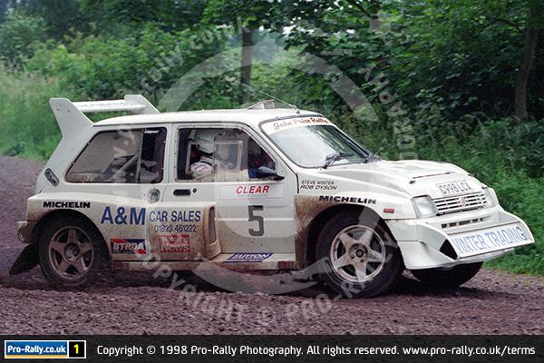 1998 Dukeries Rally Photos