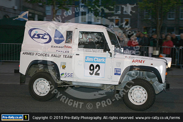 2010 Jim Clark Land Rover Rally