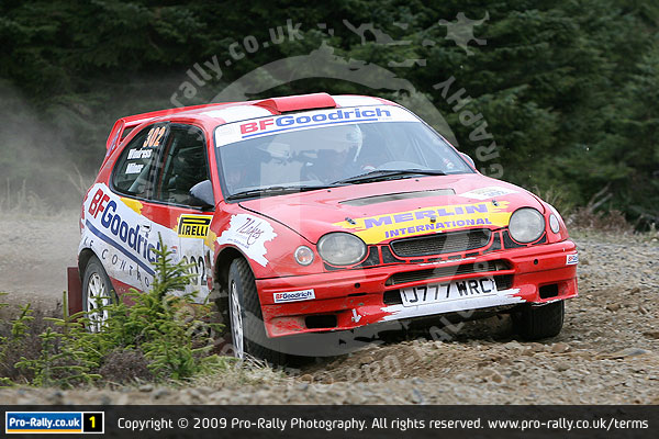2010 Pirelli Tour of Cumbria Rally