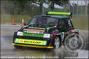 2008 Weeton Camp Stages Rally Photos