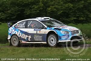 2008 Pendragon Stages Rally