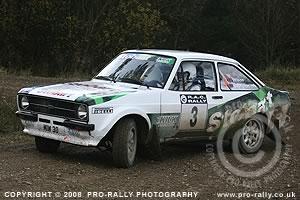 2008 Roger Albert Clark RAC Rally