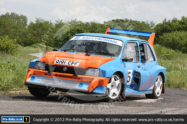 2012 Keith Frecker Memorial Weeton Stages