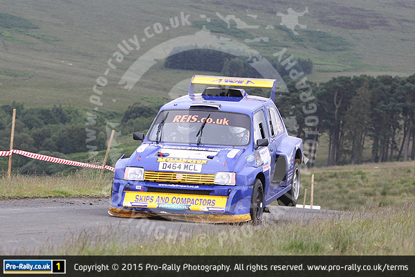 2015 Tyneside Stages Rally