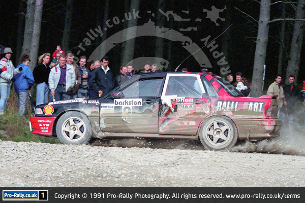1991 Barkston Forest Stages Rally
