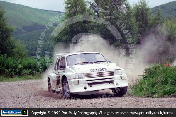 1991 Jim Clark Memorial Rally