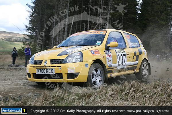 2012 Pirelli Challenge Rally