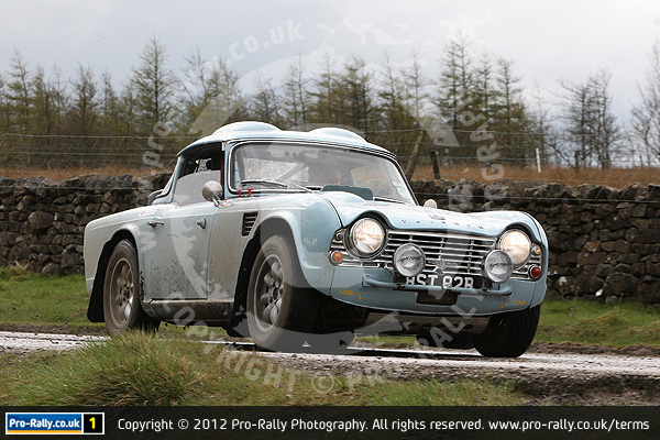 2012 Ilkley Jubilee Historic Rally
